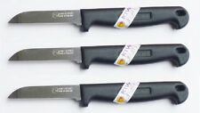 """3 x KIWI BRAND Stainless Steel """"TipTop Knife"""" with plastic handle NEW No. 192"""