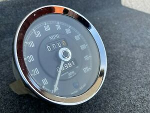 Smiths Speedo Classic MG Speedometer 120MPH SN 6142/09 1000