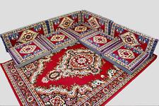 9 Teilige Set Sark Kösesi Orientalische Sitzecke, Sitzkissen Set