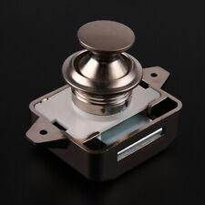 Push Lock Button Catch Lock Cupboard Door Knob Motorhome RV Cabinet Knob Drawers