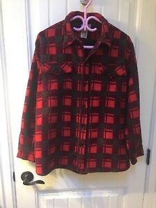 Champion Doeskin Lumberjack Logger Shirt Plaid Vintage