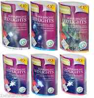 Bright Christmas LED String Lights Battery Powered Indoor Xmas Tree Decorations