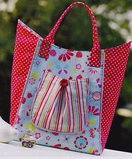 PATTERN - Strawberry Swing - stylish fabric bag PATTERN - Melly & Me