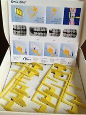 2x Dental Kerr X-Ray Holders film phosphor plate holder horizontal bitewings