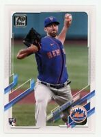 2021 Topps Series 1 #78 DAVID PETERSON New York Mets Logo ROOKIE CARD RC