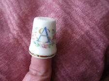 ELEGANT GILDED ROYAL ALBERT CHINA THIMBLE ANDREW & FERGIE SARAH WEDDING 1986