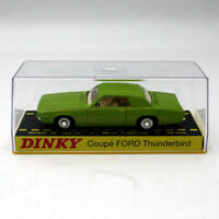 Atlas 1/43 Dinky toys ref 1419 COUPE FORD THUNDERBIRD Diecast Models green