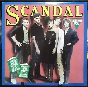 SCANDAL Self-Titled EP Album Released 1982 Vinyl Collection USA