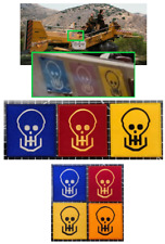Serenity Mule Skulls Patch Set of 4 - Firefly Whedon Prop