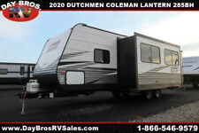 20 Dutchmen Coleman Lantern 285Bh Travel Trailer Towable Rv Camper Sleeps 10