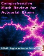 Math Review for Actuary Actuarial Exam P FM MLC MFE C book