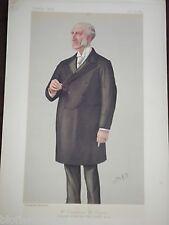 Original Victorian Vanity Fair Print: Chauncey Mitchell Depew américain de 1889 chemins de fer
