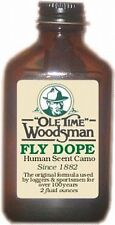 Ole Time Woodsman Fly Dope.  America's First Commercial Insect Repellent.