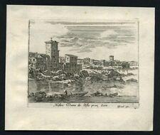 EGLISE NOTRE DAME DE L ILE BARBE A LYON en 1635