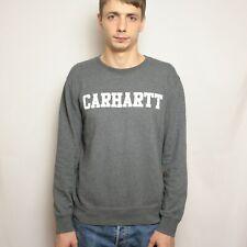 Carhartt College Sweatshirt Mens Size S Cotton Big logo