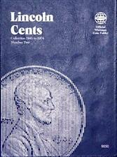 Whitman Lincoln Cents Coin Folder 1941-1974 Vol No 2 Penny Album Book 9030 NEW