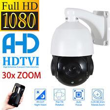 30X Optical Zoom AHD 1080P 2MP Outdoor PTZ  Camera SONY CMOS IR-Cut ONVIF IP66