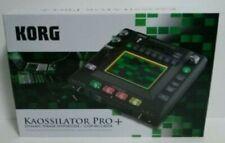 Korg Kaossilator Pro Plus + Dynamic Phrase Synth Loop Rec Synthesiser Japan EMS