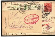 GB Cover Devon Torquay SUBSEQUENT REDIRECTIONS Bohemia Prague Military 1913 K269