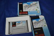 SNES Super Nintendo Pilotwings Game Boxed With manual