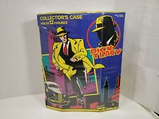 Vintage Dick Tracy Action Figure Carrying Case Holds 12 Figures (Not Included)
