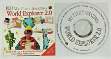 Dk My First Amazing World Explorer 2.0 Pc Cd-Rom & Inserts Only Ages 5-9