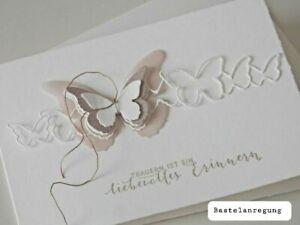 Stanzschablone Sizzix BS Cutting Dies Framelits Butterfly Geburtstag Hochzeit up