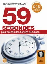 59 secondes pour prendre les bonnes décisions | Livre audio (neuf)