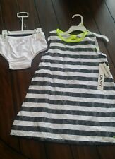 DKNY girls dress and pantaloons new sleevless girls 4T