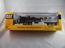 Caterpillar CAT Mural Semi-Truck #1 Diecast - Norscot - 1:64