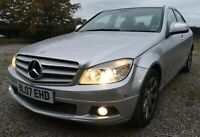 MERCEDES C220 CDI AUTO 56K LOW MILEAGE NEW MOT DRIVES LOVLEY GOOD CONDITION