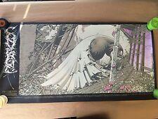 CONVERGE 2006 TOUR POSTER by AARON HORKEY (print burlesque jake bannon jane doe)