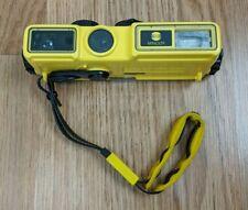 Minolta Weathermatic A 110 Waterproof Underwater Diving Camera with Wrist Strap
