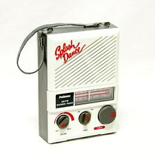 Vintage Pollenex Splash Dance Am/Fm Shower Radio Model Sr-1/B49 Works Great!