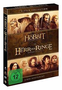 Der Hobbit - Teil: 1-3 und Der Herr Der Ringe - Teil: 1-3 [6 DVD's/NEU/OVP]
