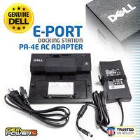 DELL OEM Latitude E5420 E5430 E5520 E5530 PR03X E-Port Replicator + 130W Adapter