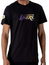 New Era - NBA los Angeles Lakers Gradiente Wordmark Camiseta - Negro