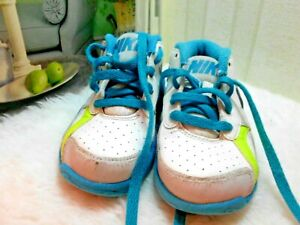 Nike Air aqua blue white gray Retro 2013 TD Toddler baby 9C sneaker 579808-101