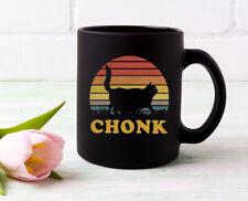 Black Cat Chonk Coffee Mug
