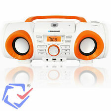 Boombox Stereoanlage Tragbarer MP3 CD Player Radio Bluetooth Lautsprecher Anlage