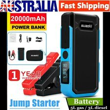 Suaoki 20000mAh 800A Car Vehicle Jump Starter Battery Booster Emergency Chargers