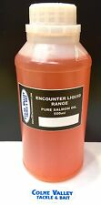 salmon oil 500 Mil Fishing Pure Non Diluted Real McCoy Cv Tackle Ltd