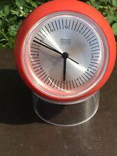Staiger Tischuhr  Uhr Quarz Space Age Mid Century Clock 70er