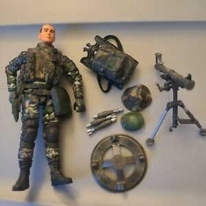 Elite Force Army Desert Ops Mortar Crew 1:18 3 3/4 inch - complete #1