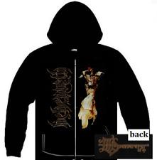 BEHEMOTH Angel Zip Up Sweatshirt Zippered Hooded Sweatshirt  M-XL  NEW