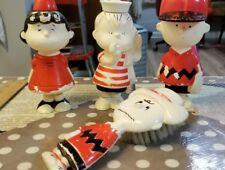 Vintage avon Charlie Brown, Linus Lucy shampoo bottles Charlie Brown brush