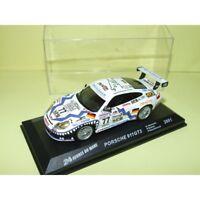 PORSCHE 911 GT3 N°77 LE MANS 2001 ALTAYA 1:43 Arrivée 7ème