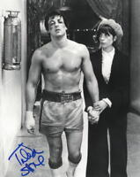 TALIA SHIRE SIGNED 8X10 PHOTO ROCKY GODFATHER AUTHENTIC AUTOGRAPH PROOF COA A