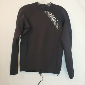 O'NEILL Mens XL Superfreak Top Wetsuit Long Sleeve Rashguard Nylon Spandex