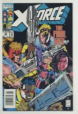 X-Force #22 1993 Deadpool Nick Fury Newsstand Fabian Nicieza Greg Capullo v
